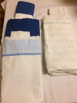 3 juegos de sábanas