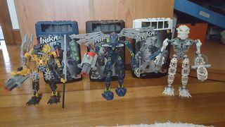 Coleccion 6 bionicle LEGO