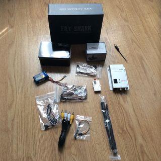 Equipo FPV 1.3 Ghz con gafas FatShark Base SD