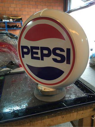 Globo luminoso Pepsi