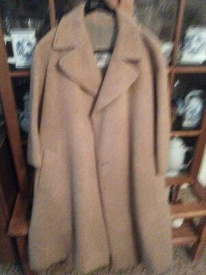 Abrigo piel de camello