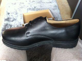 Zapatos De Cuero Nuevos Totalmente.