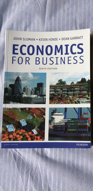 Economics for Business book