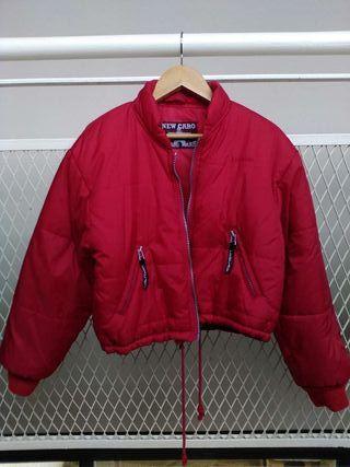 Abrigo rojo vintage NUEVO niña niño