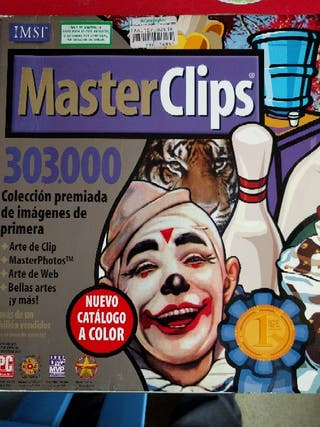 Colección Máster Clips 303.000