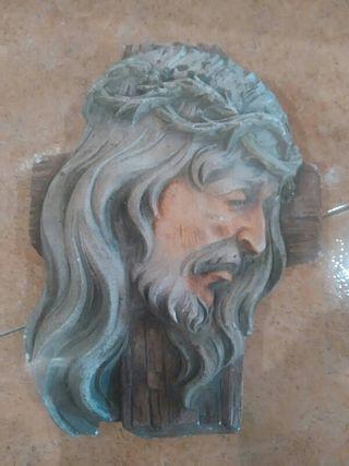 Escultura cabeza JESUCRISTO
