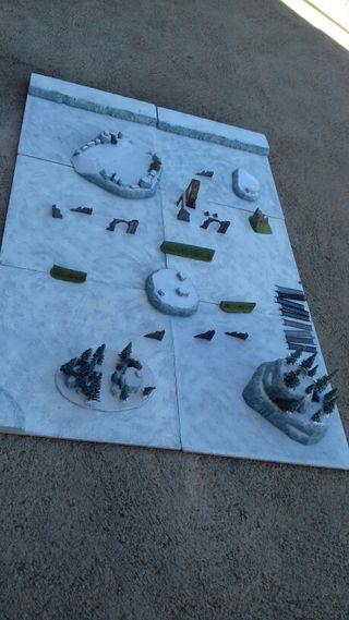 Tablero juego Campo warhammer citadel