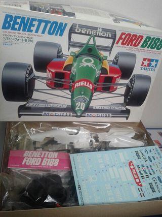 Maqueta Ford Benetton