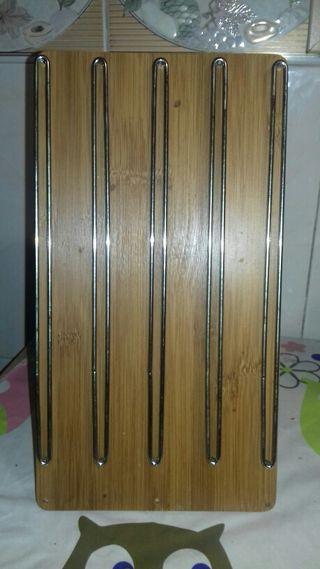 Dispensador de madera cápsulas Nespresso