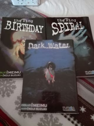 Comics manga de terror