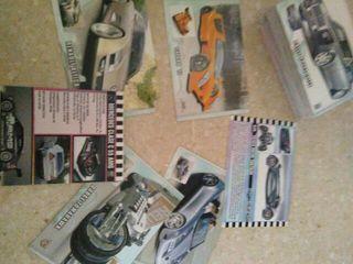 Rebajado 65 cartas coches