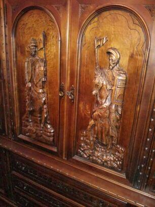 Mueble estilo castellano antiguo de segunda mano por 400 en aranda de duero wallapop - Wallapop muebles antiguos ...