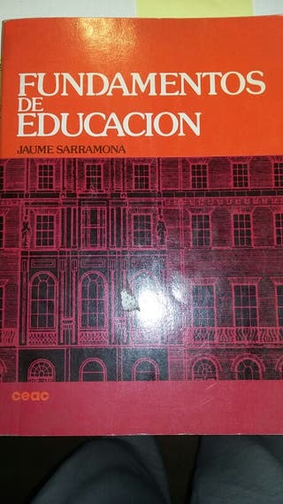 Libro fundamentos de la Educación