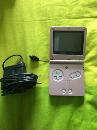 Game Boy sd rosa