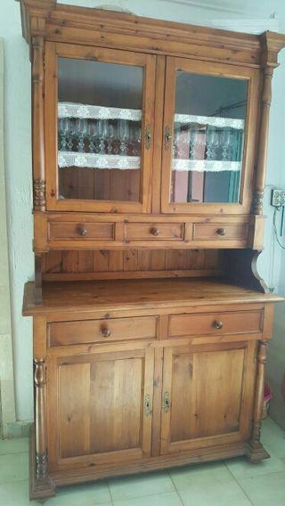 Mueble de madera buena