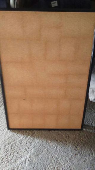 Panel de caucho nuevo, con marco