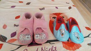 Zapatillas de bebé para casa