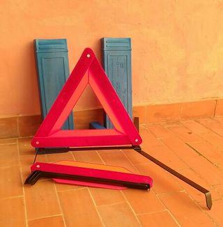 Triangulos Señalizacion + Chaleco