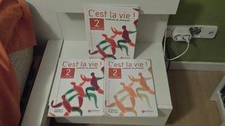 C'est la vie! 2. Libros de francés