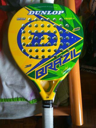 Pala de padel Dunlop Brazil Edición Limitada