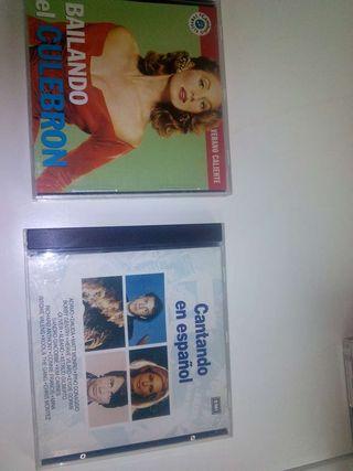 2.CD Musica.Bailando el culebron.Cantando en Español