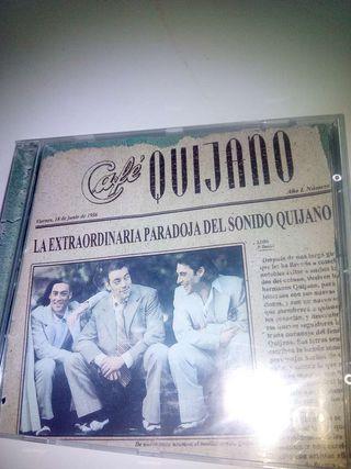 CD.Música.. Café Quijano .ocio.Colección