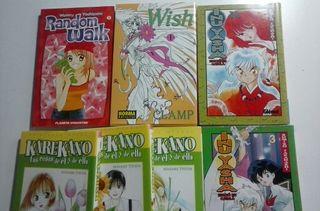 Comics Manga: Karekano, Inuyasha, Random Walk, Wish