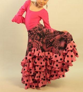 95642d7b2 Falda flamenca de segunda mano en Sabadell en WALLAPOP