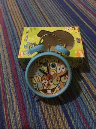 Reloj despertador Bob Esponja totalmente nuevo
