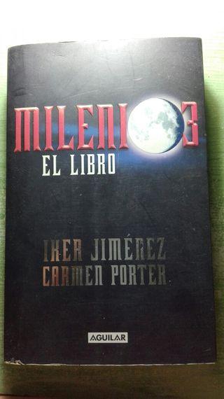 Milenio tres el libro de Iker Jiménez