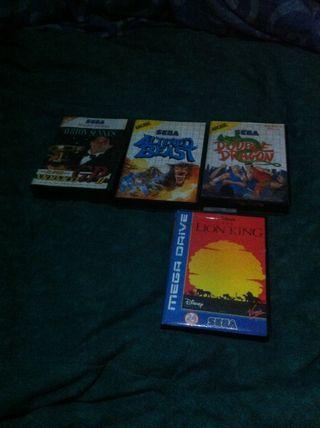 Lote Juegos Master System, Megadrive
