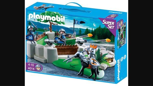 Playmobil bastion de los caballeros