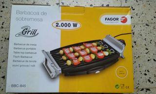 Plancha eléctrica barbacoa Fagor 2000W