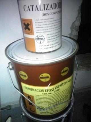 Imprimación epoxi antioxidante