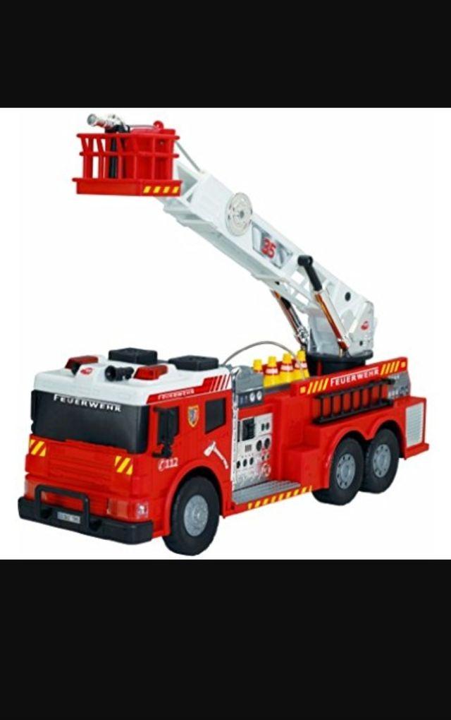 Coche bomberos teledirigido