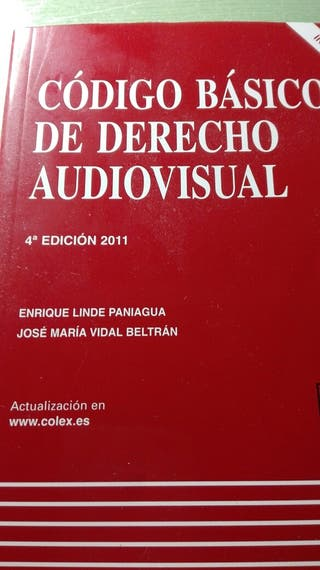 Codigo basico del derecho audiovisual con cd