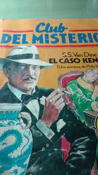 Revista del club del misterio El caso Kennel