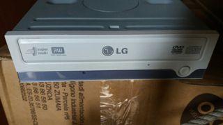 Grabadora de ordenador de dvd lg