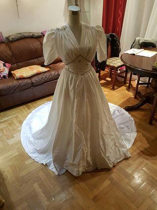 vestido de novia talla 38 de segunda mano en la provincia de