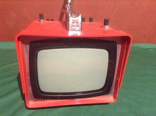 Televisor Vintage Portatil