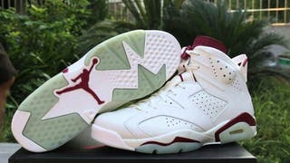 Jordan 6 maroon talla 40