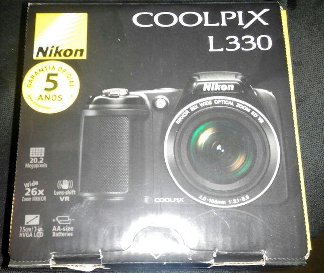 Nikon coolpix l330 prácticamente nueva