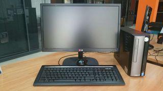 Ordenador, teclado, pantalla