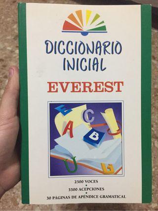 Diccionario Inicial castellano