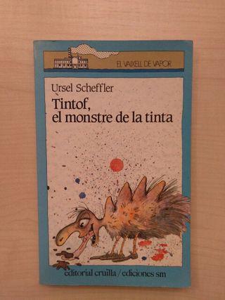 libro Tintof, el monstre de la tinta