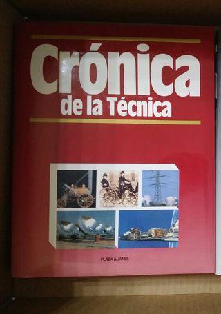 6 Tomos - Crónica de Plaza y Janés