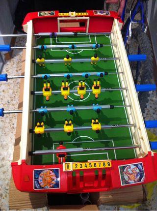 Juego Futbolín