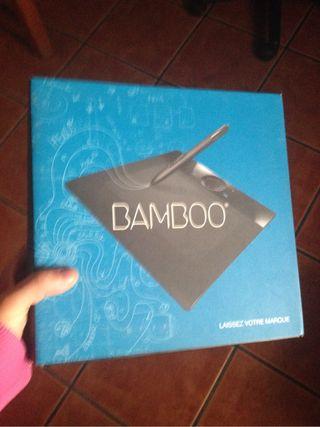 Wacom bamboo tableta para diseño gráfico y foto
