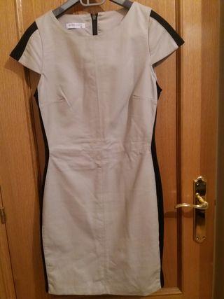 Vestido suite Blanco piel