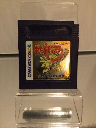 4 juegos Pokemon original Japón